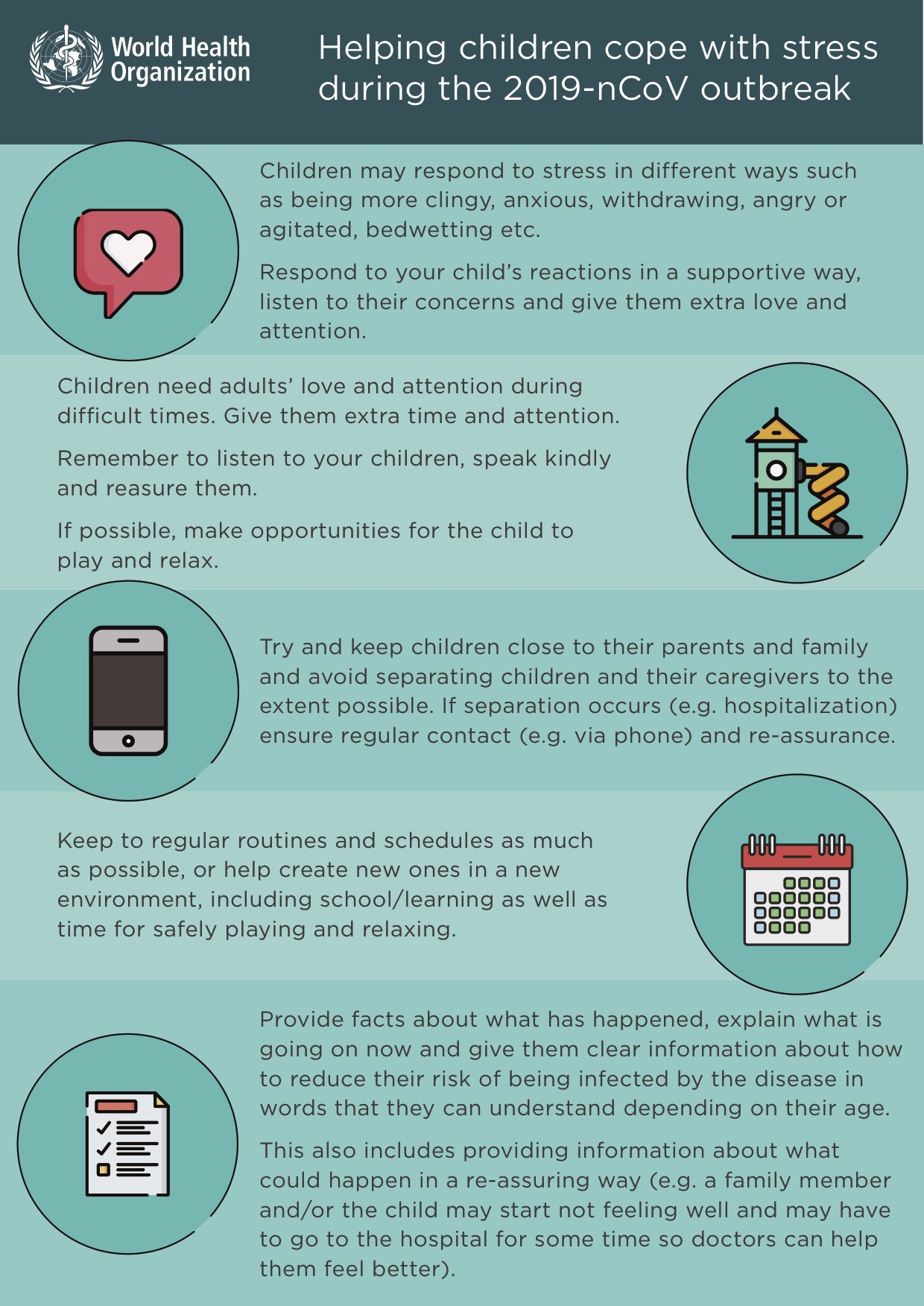 Covid 19 – Helping children Coping Stress